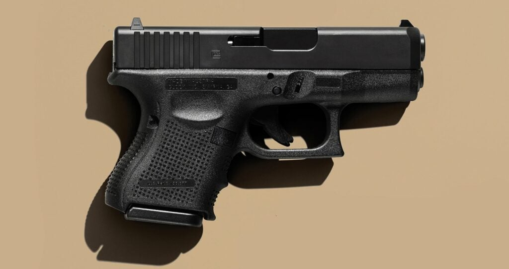 The Glock 26 handgun for personal defense