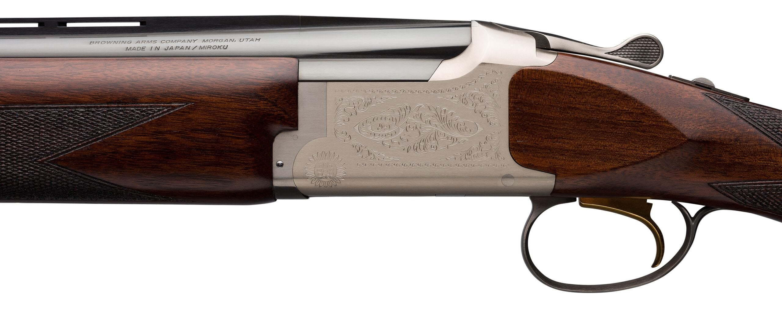 Citori Feather Superlight 16 Gauge shotgun.