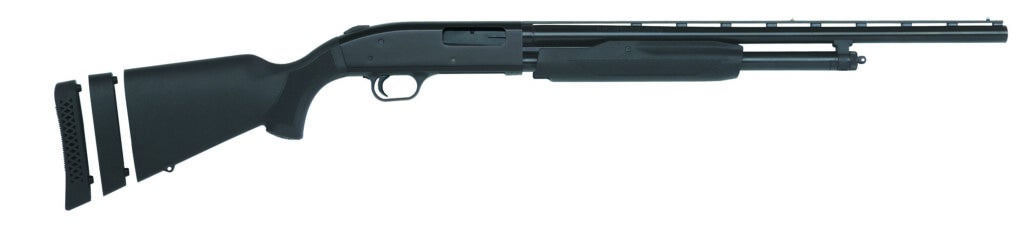 the Mossberg 500 Youth Super Bantam youth hunting gun