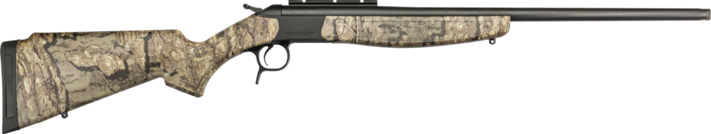 The CVA Scout .410 gun for youth hunters.