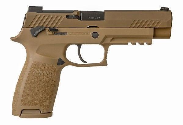 sig sauer p320-m17 handgun