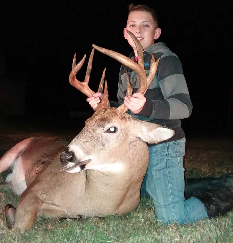 carter stucky deer hunt