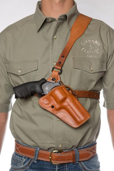 diamond d leather chest holster