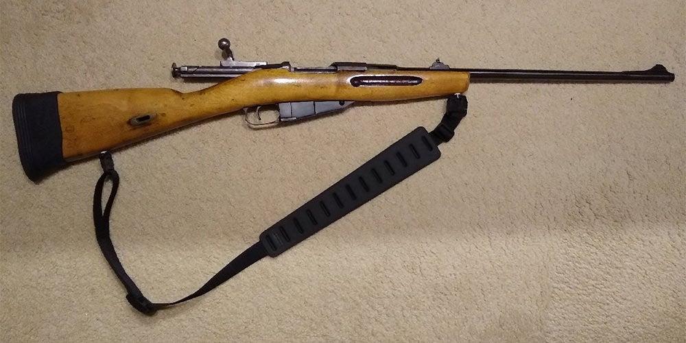 sporterized Mosin-nagant rifle