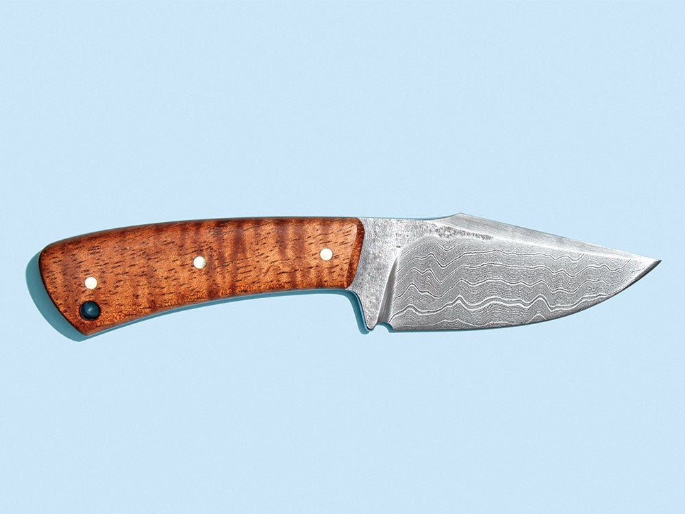 Blades of Glory: Forging Damascus-Steel Knives