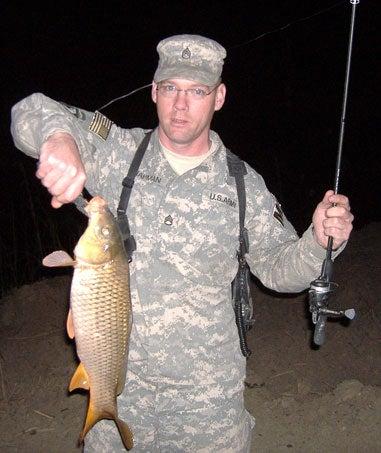 Veteran fishing