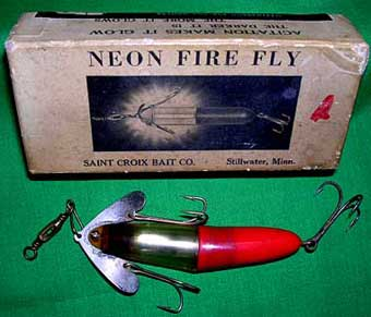 Mechanical and Spring-Loaded Collectible Antique Fishing Lures