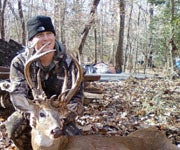Bizarre Buck: Maryland Hunter Tags 23-Pointer With Brain Abscess, Hollow Antler