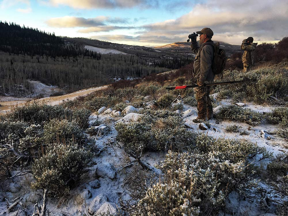 hunters glassing Colorado high country