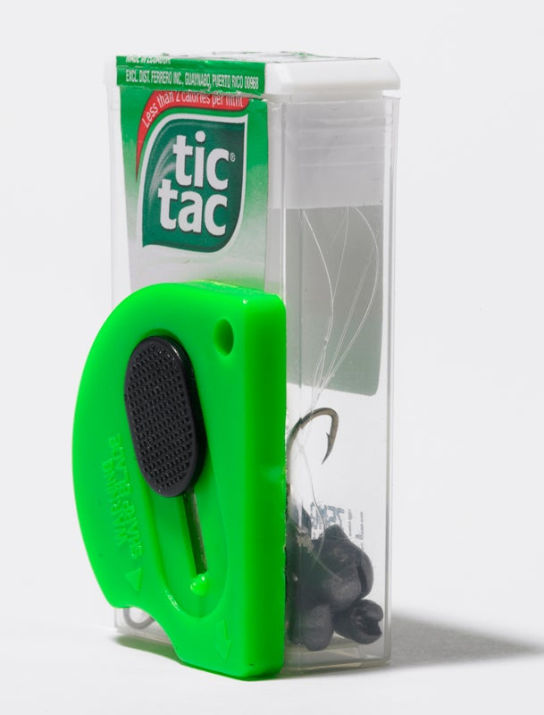 Make a Tic Tac Box Bait Dispenser + 44 More Hunting, Fishing, and Camping Tips from the Readers of Field & Stream