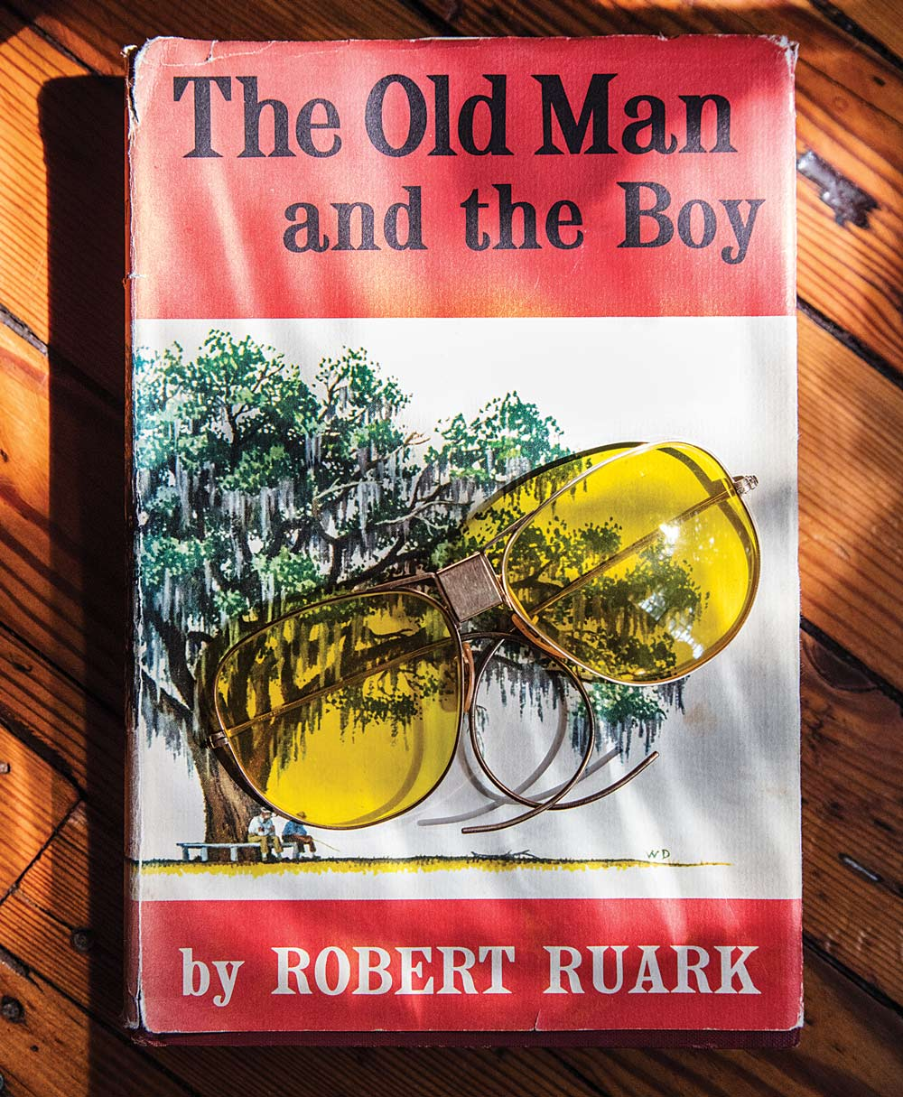book cover of old man and the boy by robert ruark
