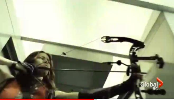 Jessica Biel's 'Blade Trinity' Bow Stolen from Canadian Archery Shop