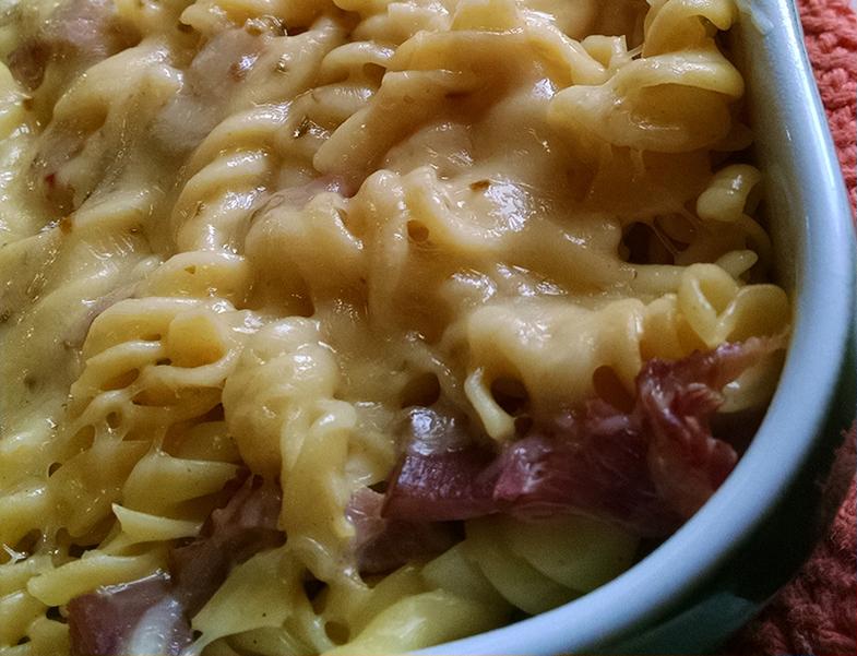 Recipe: Smoked Ham Macaroni and Cheese