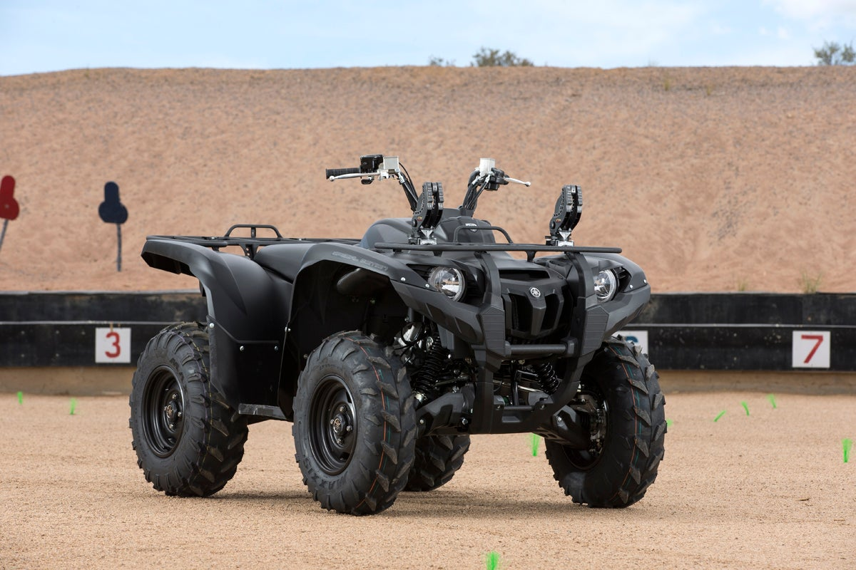 ATV Review: 2014 Yamaha Grizzly 700 in Tactical Black