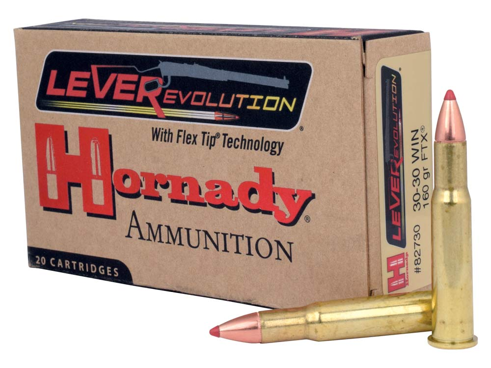 hornady 30 30 winchester cartridge whitetail