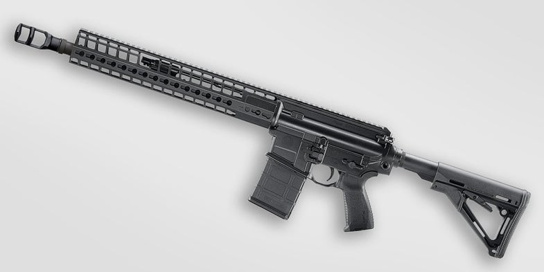 The SIG 716 DMR G2 rifle.