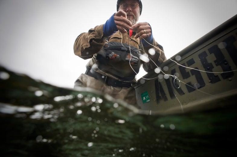 flyfishing mistake