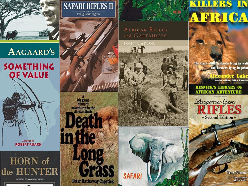 best african hunting books