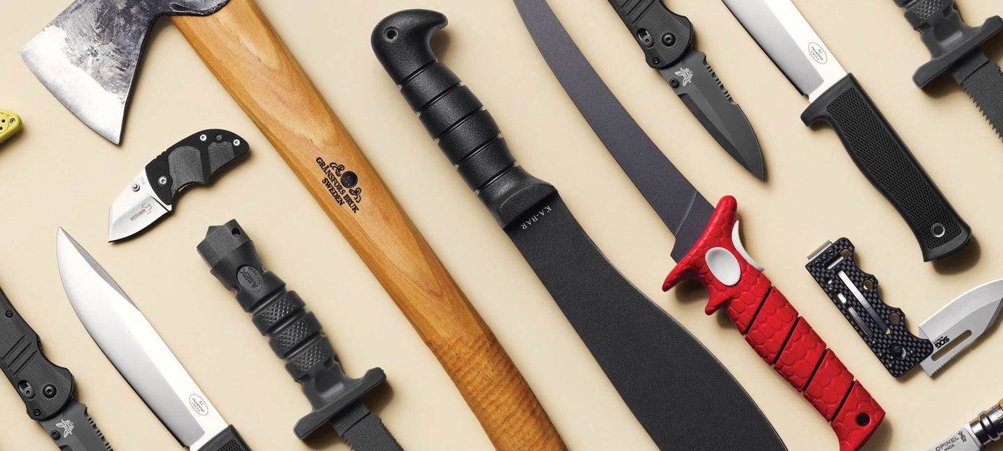 10 essential blades for hunting fishing and survival