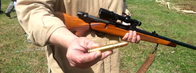 close look at .460 Weatherby