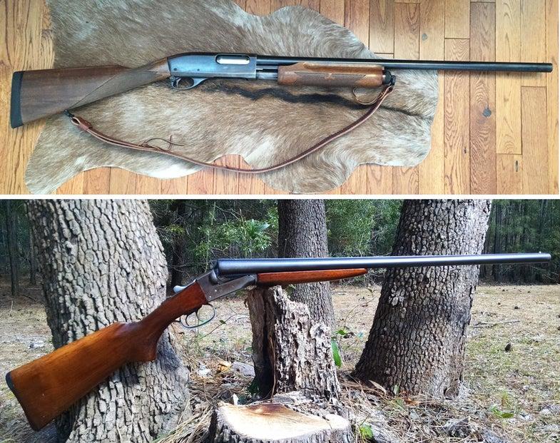 gunfight friday, 870, remington, stevens,
