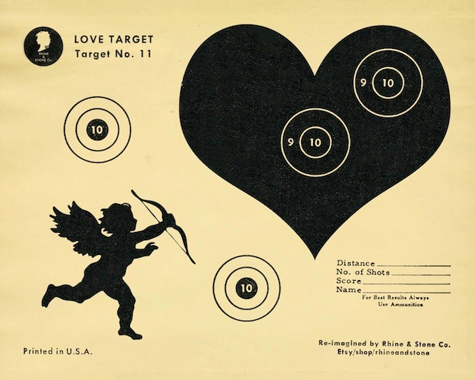 Gun Ranges Were Popular with Lovers and the Broken-Hearted on Valentine's Day