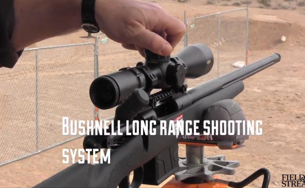 New Long-Range Shooting System: Bushnell LHRS Scope and Range Finder