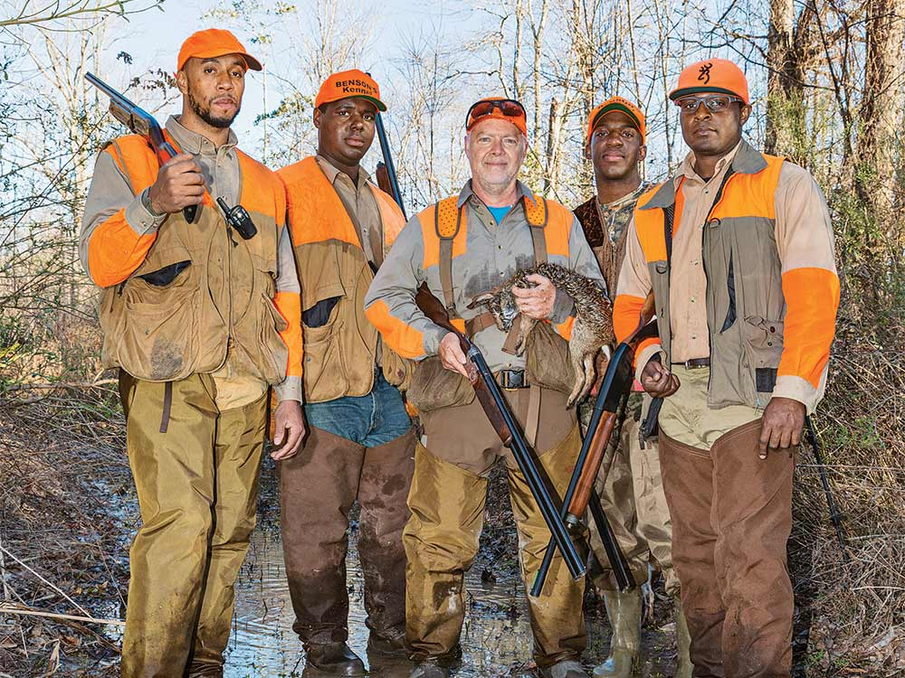 t edward nickens and swamp rabbit hunters