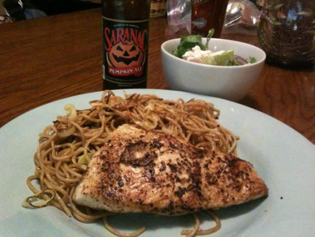 httpswww.fieldandstream.comsitesfieldandstream.comfilesimport2014importBlogPostembedWild_Chef_Salmon_Pasta.jpg