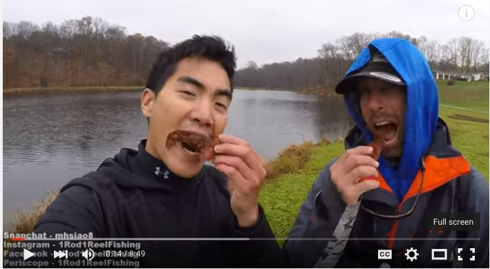 Mike Iaconelli Proves Bass Love Bacon