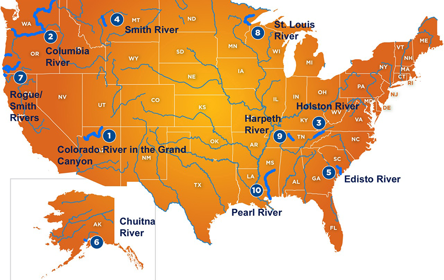 American Rivers Releases Annual List of Ten Most Endangered Rivers