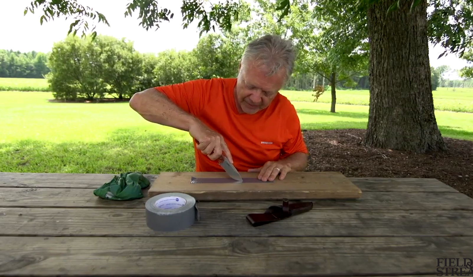 Total Outdoorsman: How to Make a Duct Tape Butterfly Suture