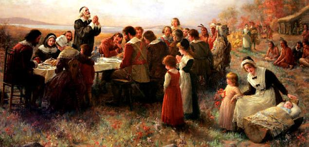 """The """"Real"""" Story of Thanksgiving"""