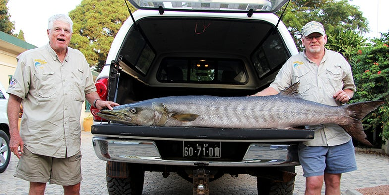 Big Fish Alert: World Record, 102-Pound Barracuda Caught in Angola