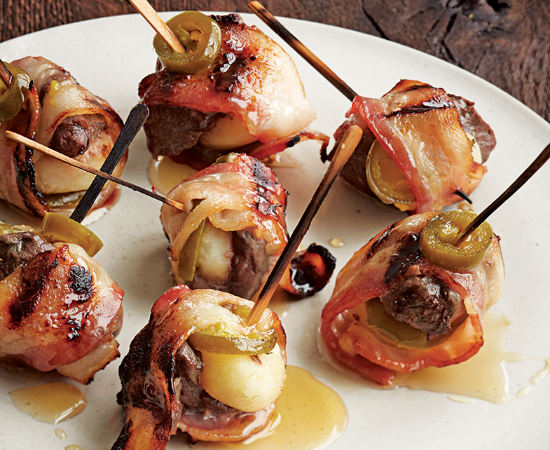 The Gateway Duck: Bacon-Wrapped Bites