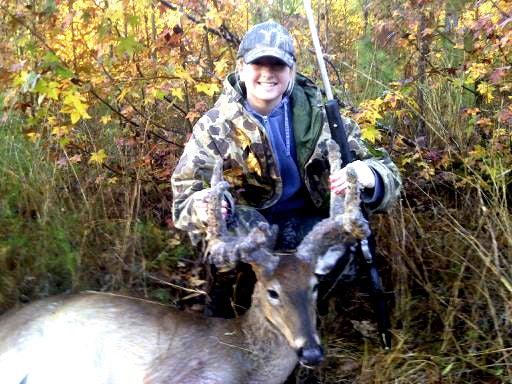 Freak Buck: Georgia Teen Tags Rare Deer With Bizarre Velvet Antlers