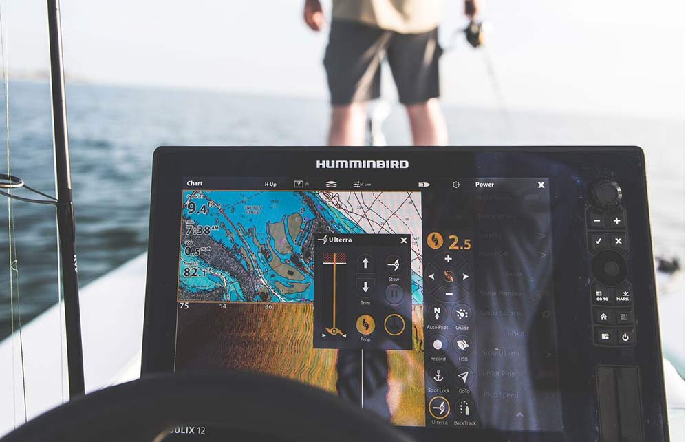 humminbird scan sonar fish finding