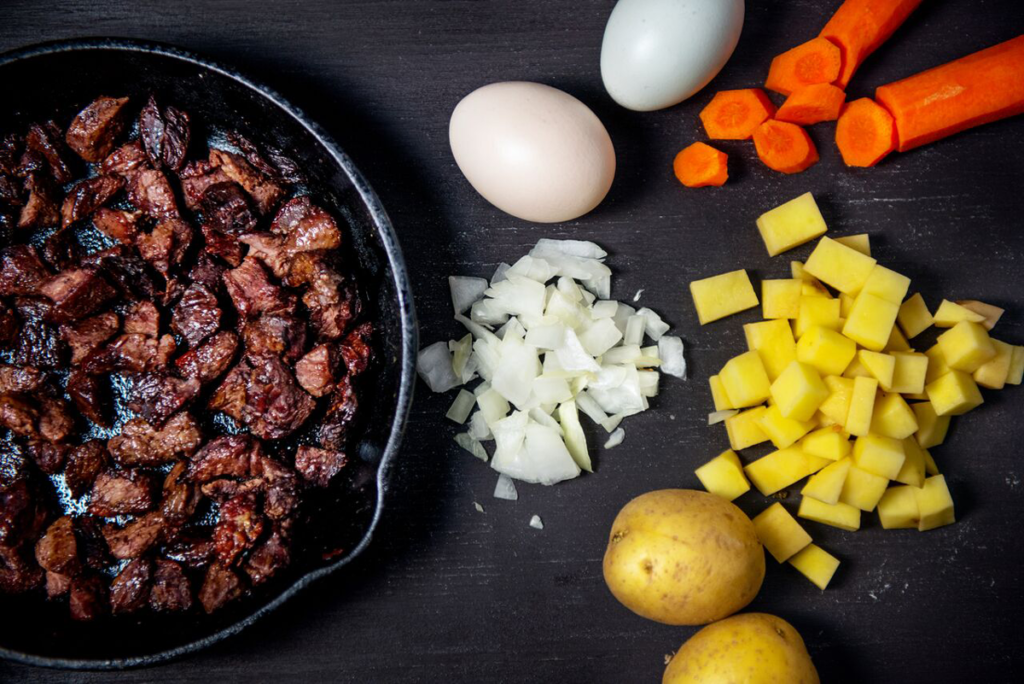 hash recipe, venison has, venison recipes