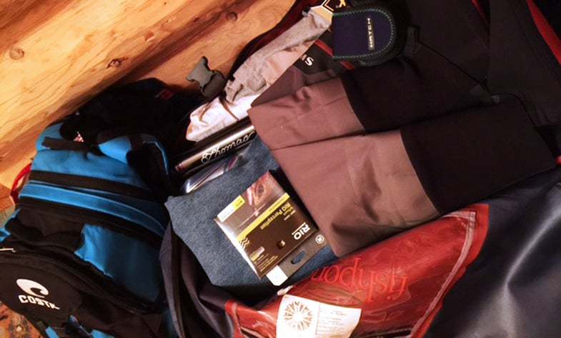 Five Fishing-Trip Packing Rules