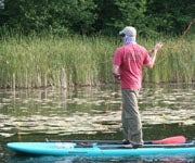 Fly Fishing with SUPs is Not a Fad