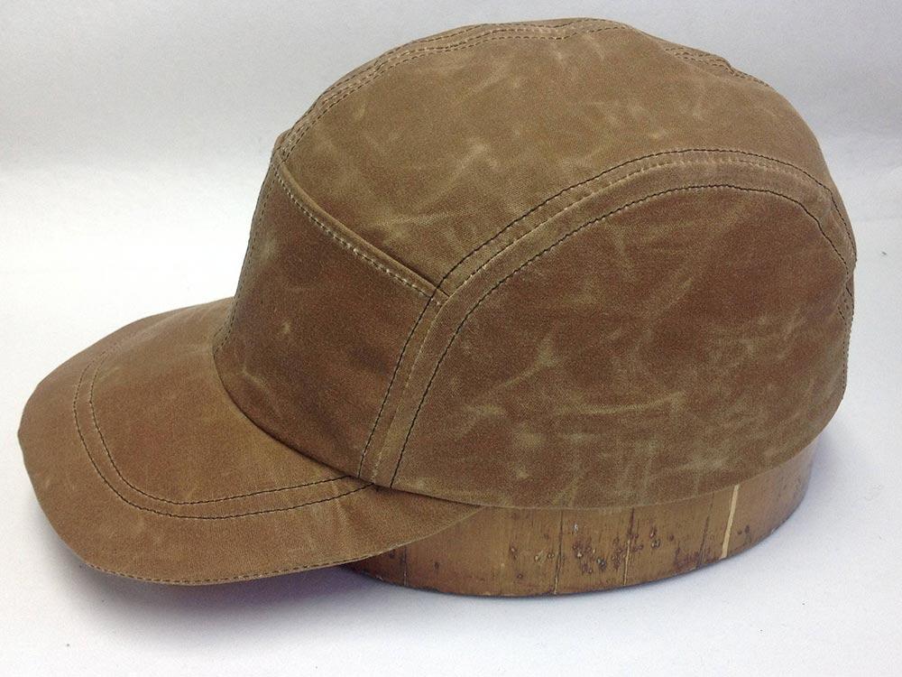 Quint's Waxed Cotton Fishing Cap