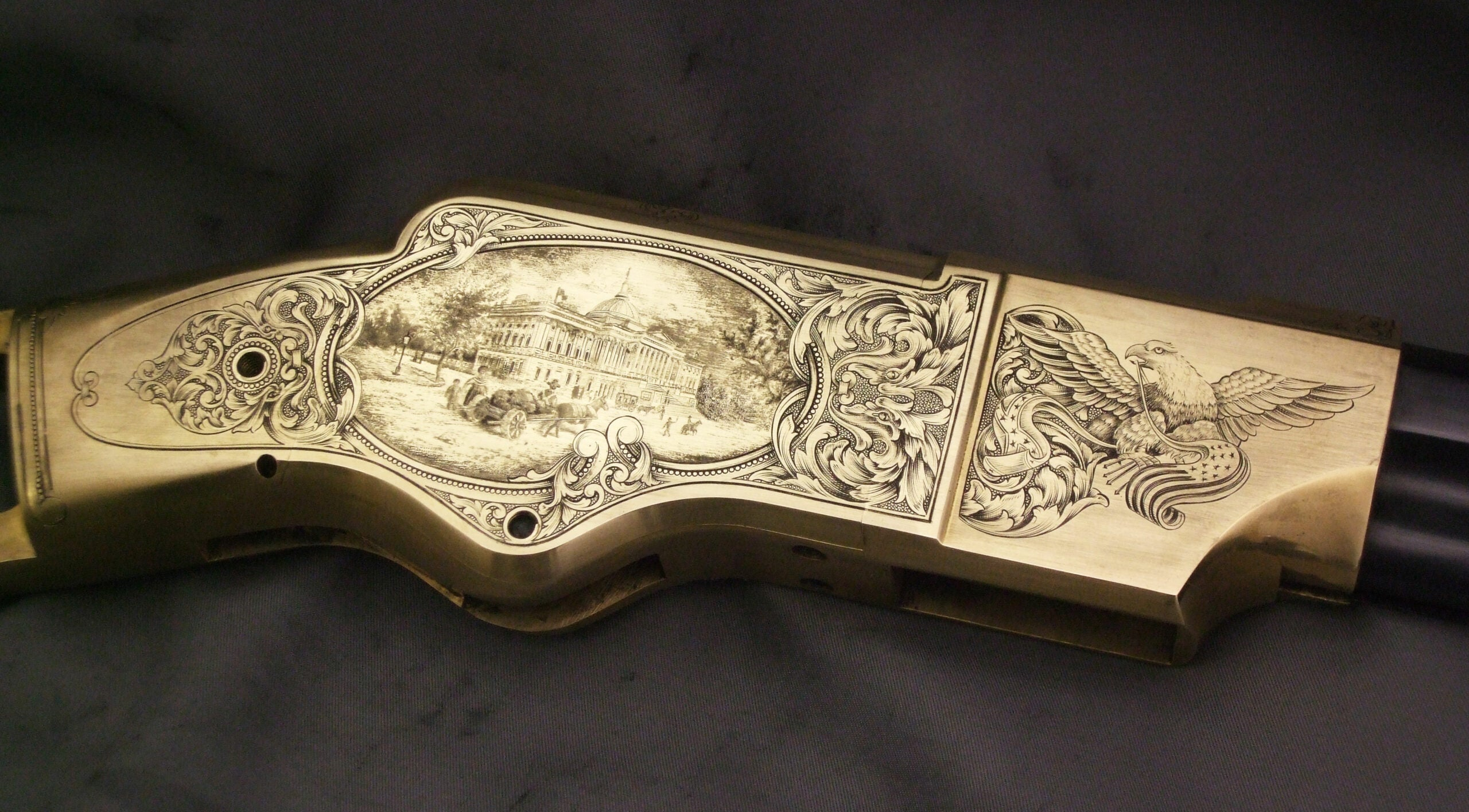 The Gun Art of Master Engraver Lee Griffiths