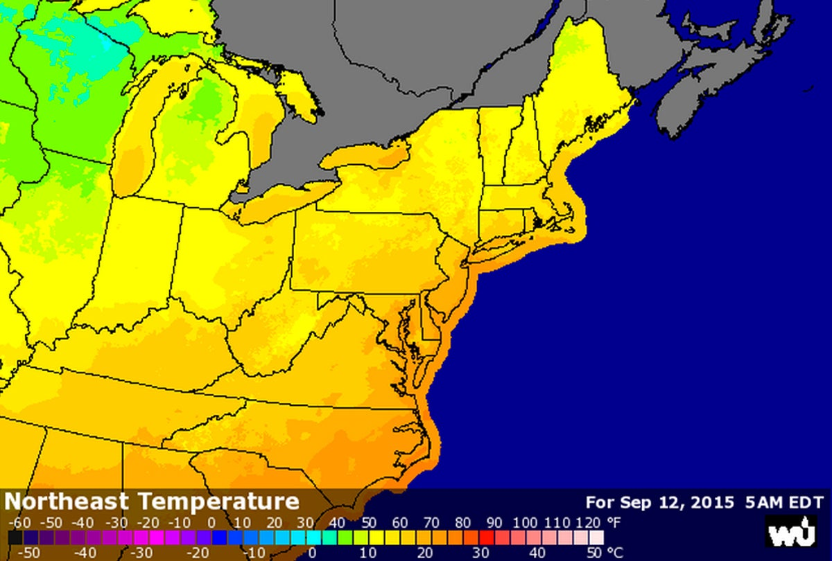 Cooling Northeastern Temperatures Primed for Season Openers