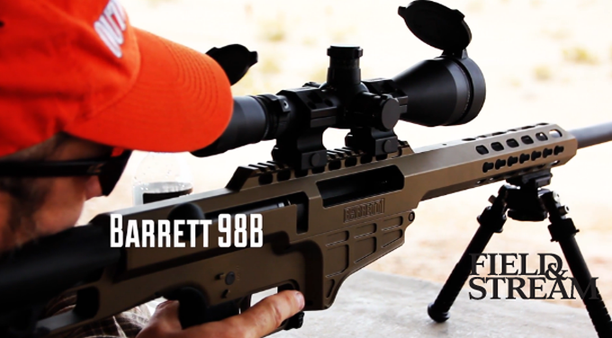 New Long-Range Hunting Rifle: Barrett 98B