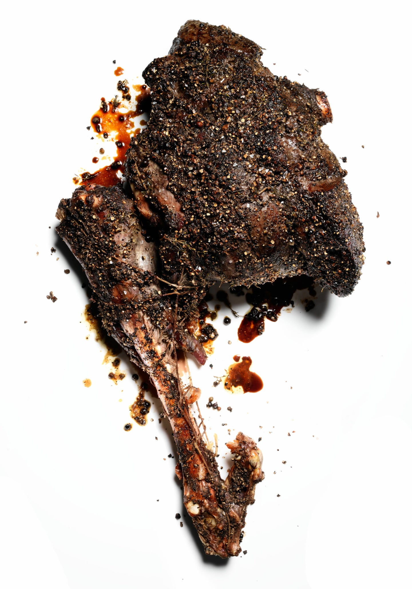 Two Ways to Cook a Roasted Leg of Venison