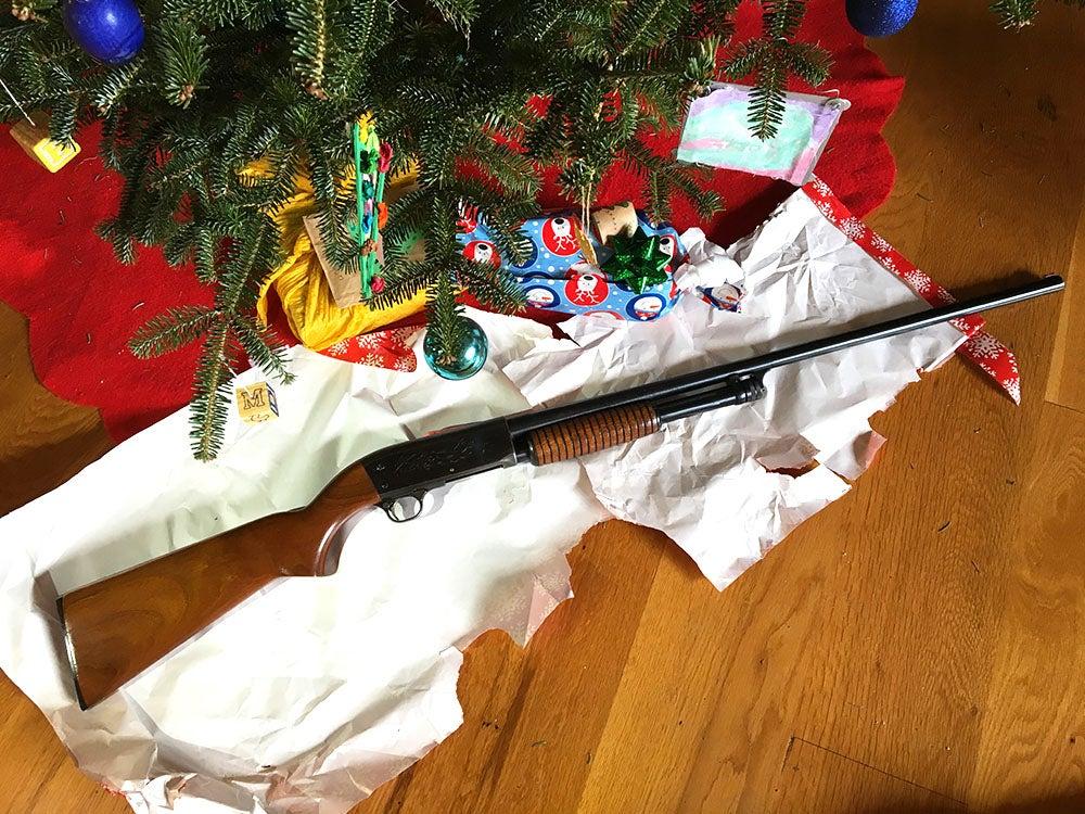 Hunting, Gun, Christmas, Ithaca Model 37, Dave Hurteau