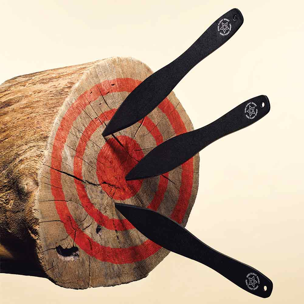 throwing knives bullseye