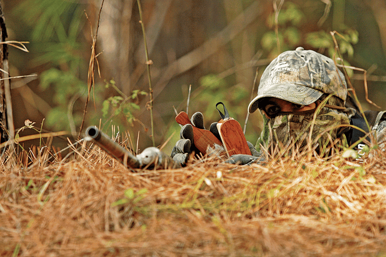 Turkey Hunting Tactic: Dig a Pit Blind