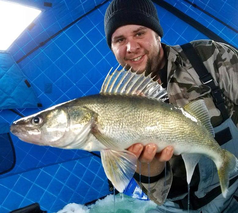 Hook Shots: Icing Ohio Walleyes