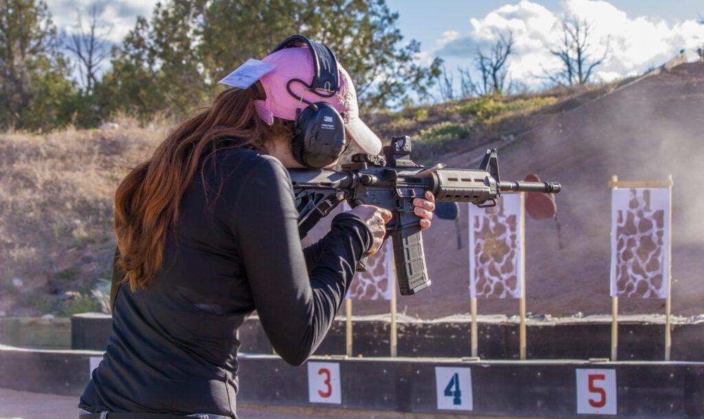 AR on the range